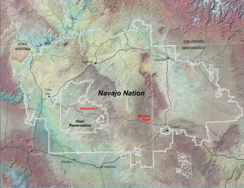 Navajo Map